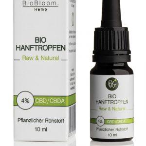 BioBloom CBD Hanföl 4%