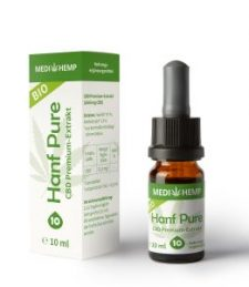 MEDIHEMP  Bio Hanf Pure 10%, 10ml