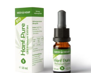 MEDIHEMP  Bio Hanf Pure 5%, 10ml