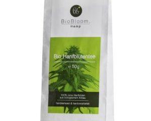 Bio Hanfblütentee Teesackerl, 50g