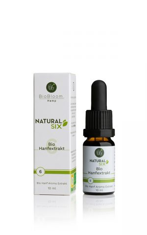 6% Bio Hanftropfen Raw & Natural 10ml