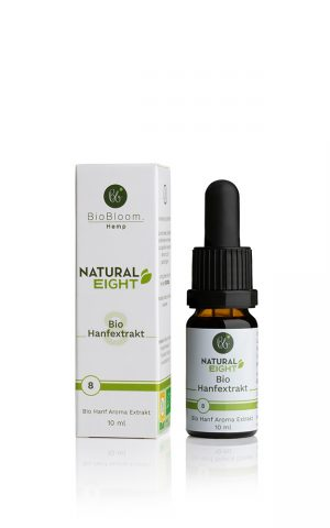 8% Bio Hanftropfen Raw & Natural 10ml