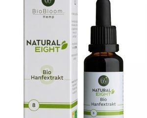 8% Bio Hanftropfen Raw & Natural 30ml