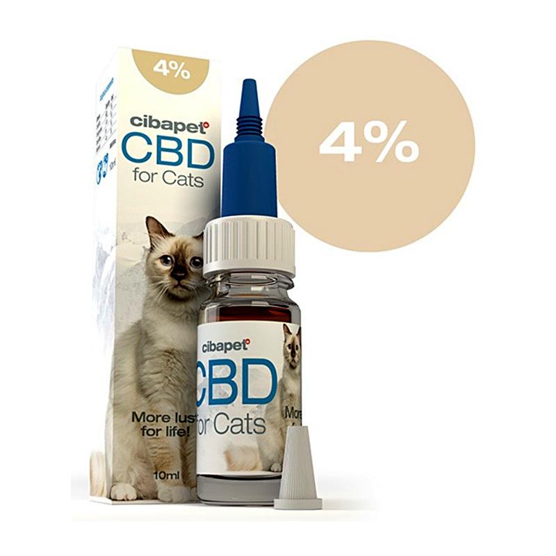 4% CBD-Öl für Katzen