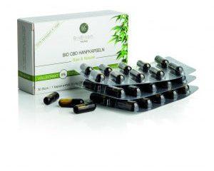Bio CBD Hanfkapseln Raw & Natural (30 Stück)