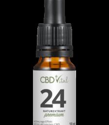 CBD Öl Naturextrakt Premium 24%