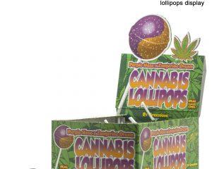 Cannabis Lollipops Bubblegum x Purple Haze / Tangerine Dream