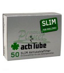 ACTITUBE SLIM AKTIVKOHLEFILTER 50 Stück