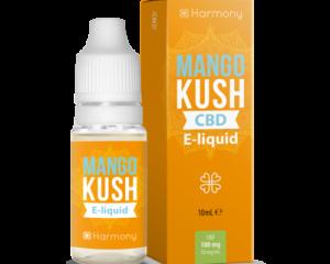"Harmony E-Liquid ""Mango Kush"" 30mg CBD 10ml"