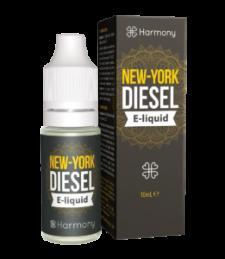 """Harmony E-Liquid """"NY City Diesel"""" 600mg CBD 10ml"""