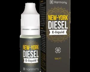 """Harmony E-Liquid """"NY City Diesel"""" 300mg CBD 10ml"""