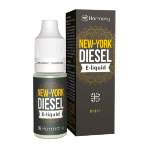 "Harmony E-Liquid ""NY City Diesel"" 30mg CBD 10ml"