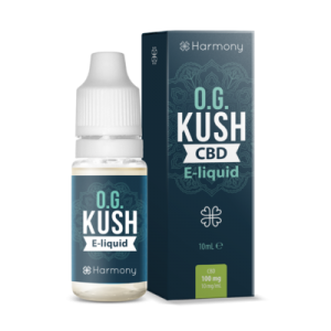"Harmony E-Liquid ""OG Kush"" 100mg CBD 10ml"