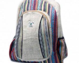 Großer Rucksack – Hanf & Baumwolle
