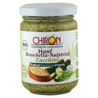 Bruschetta-Aufstrich Zucchini-Ruccola