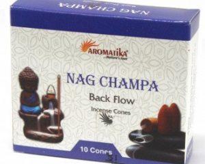 Aromatika Rückfluss Räucherkegel – Nag Champa
