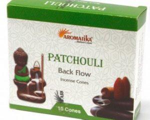 Aromatika Rückfluss Räucherkegel – Patschuli