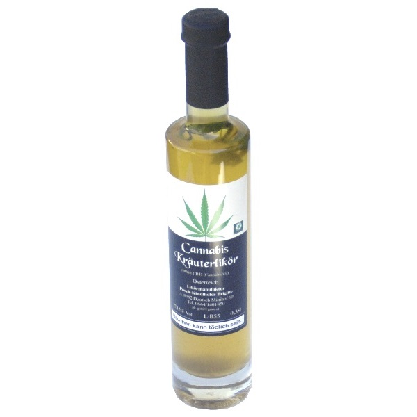 Cannabis-Likoer