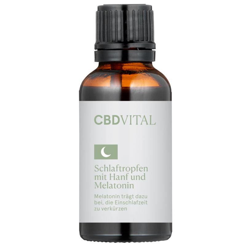 CBDVital- Schlaftropfen mit Hanf