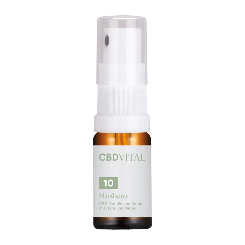 Der CBD VITAL Mundspray ist ein CBD MCT/Hanf Öl mit Cannabidiol, Vitamin E und Pfefferminzöl.